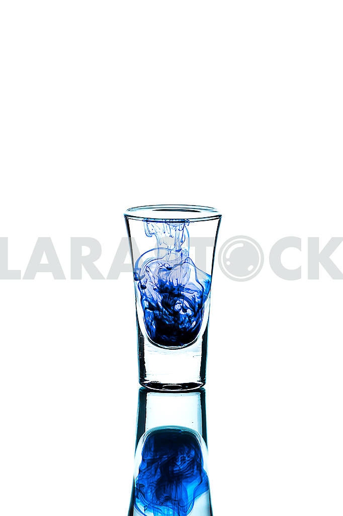Glass wineglass It stands on the background Glass wineglass It stands on the white background — Image 22782