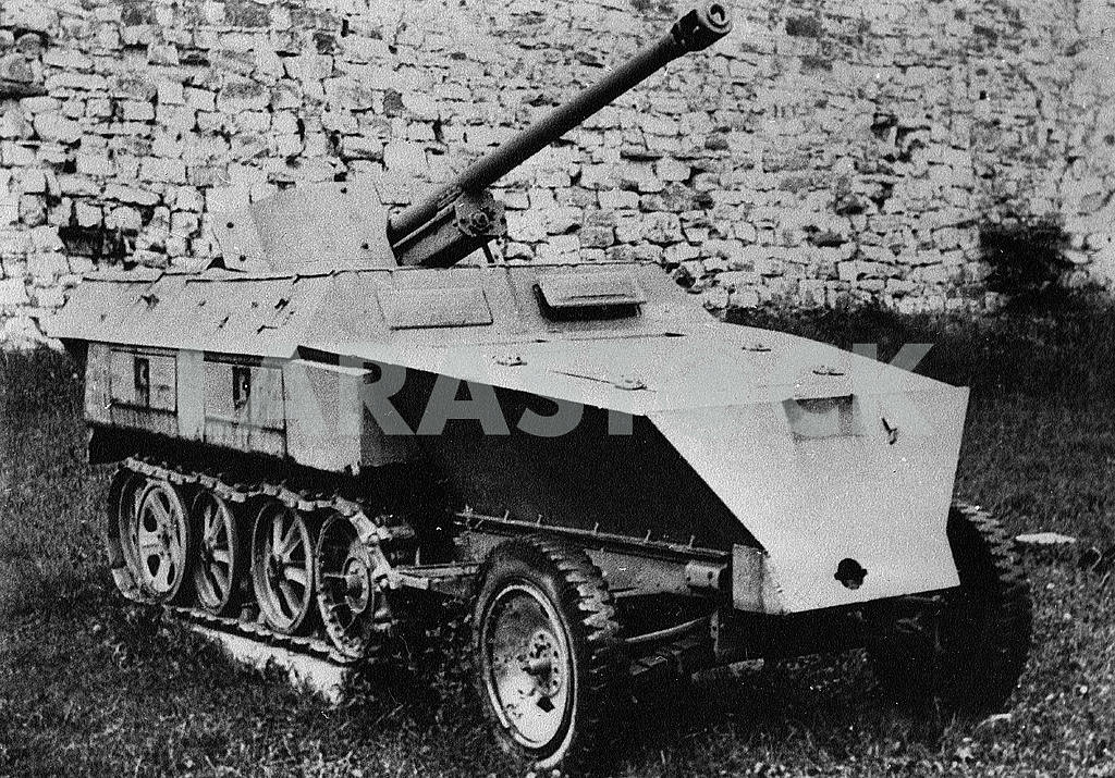 German light semi-caterpillar self-propelled gun — Image 22842