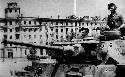 German middle tank