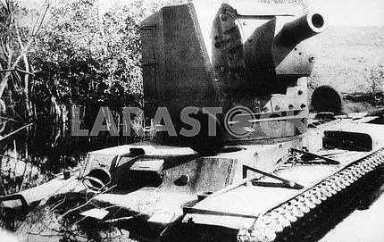 Soviet heavy tank КV-2