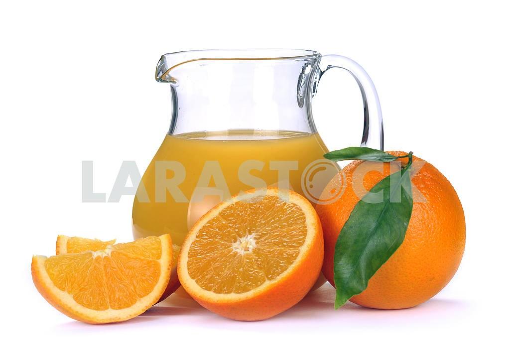 Orange juice and fruit — Image 2287