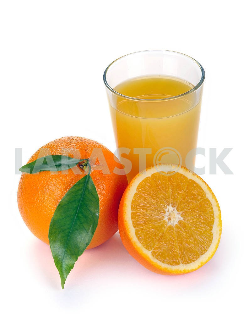 orange juice and fruits — Image 2288