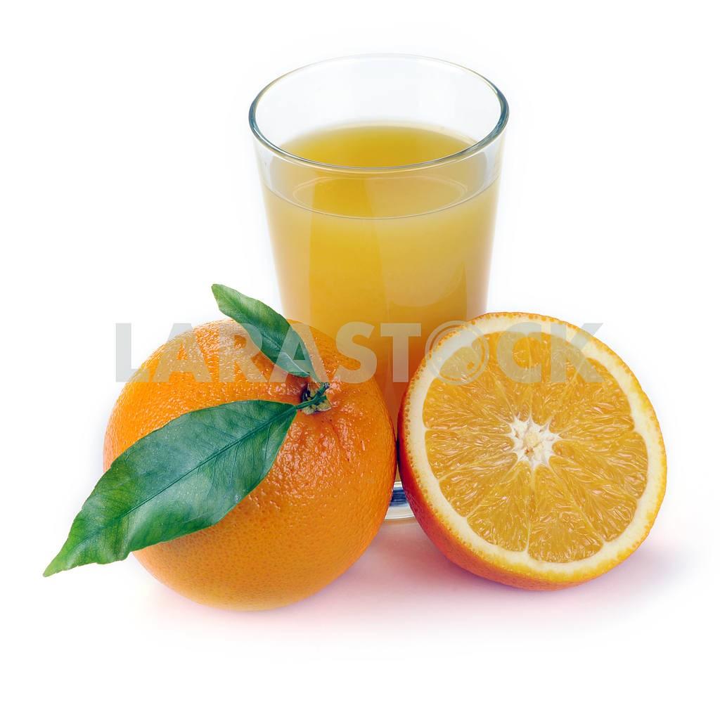 Orange juice and fruit — Image 2290