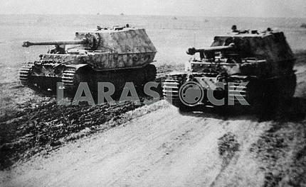 German self-propelled guns Ferdinand