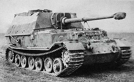 German self-propelled gun Elefant