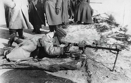 German machine-gun MG-34.