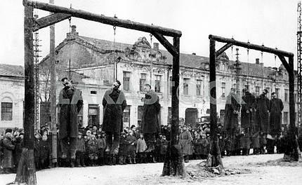 Public executions in Ukraine