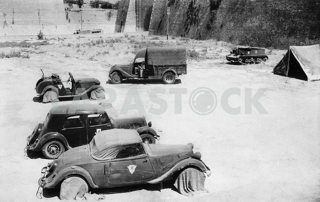 Germans in Africa near Tobruk castle in Morocco. — Image 22935