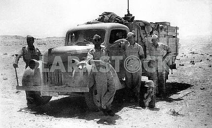 German soldiers in Africa
