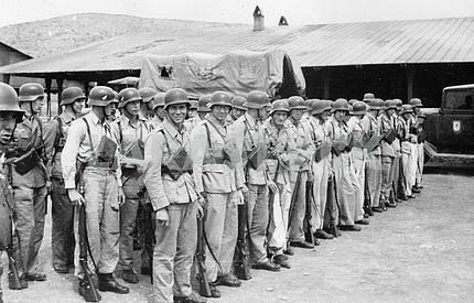 Солдаты седьмой авиадивизии. Германия