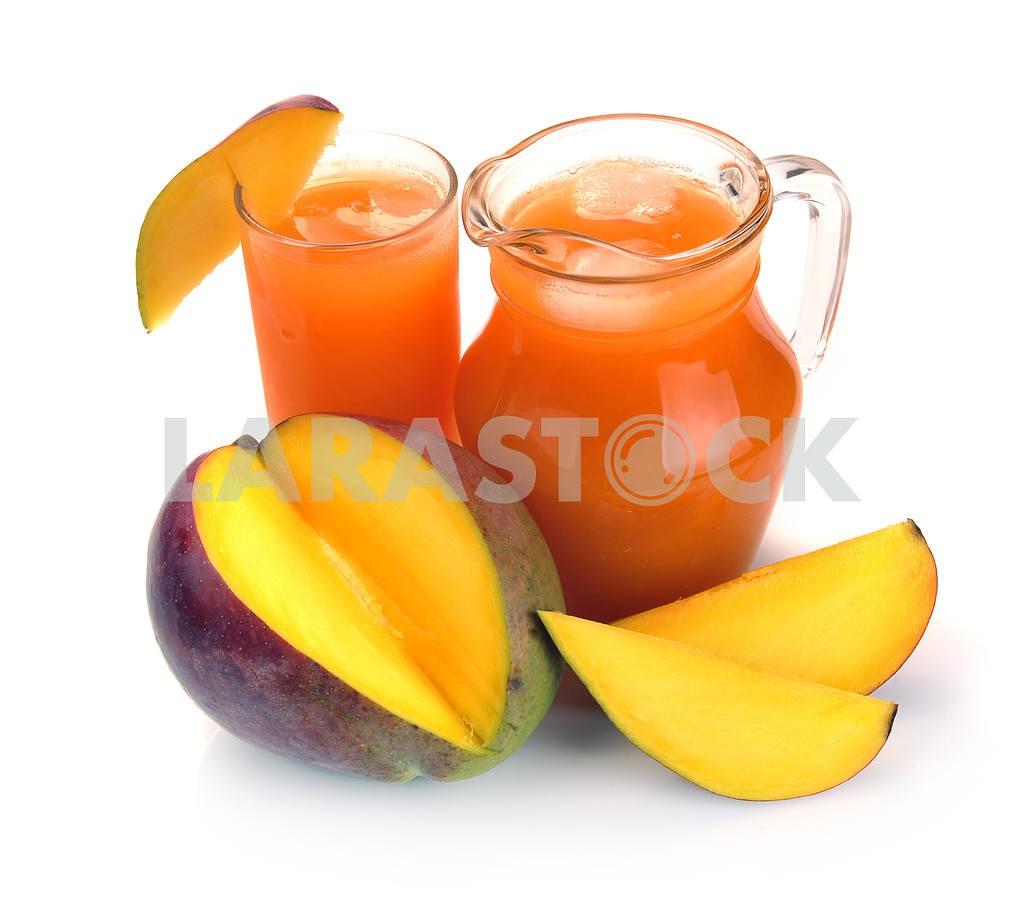 Mango juice and fruit — Image 2317