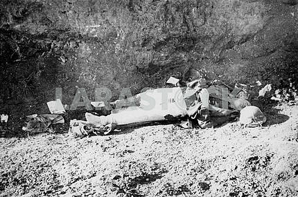 Killed german soldier.