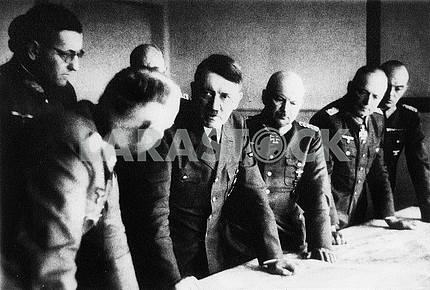 Hitler at conference
