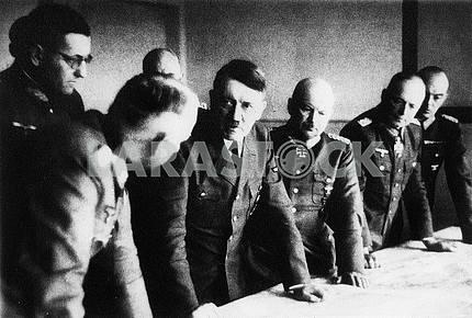 Hitler at conference