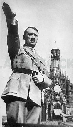 Portrait of Hitler