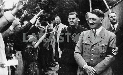 Hitler meets people