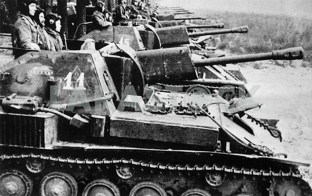 Self-propelled gun SU-76 — Image 23291