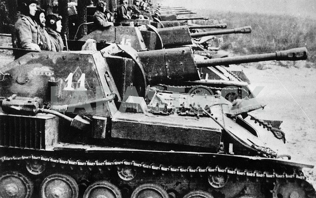 Self-propelled gun SU-76 — Image 23291