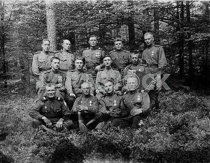 Soviet army heroes