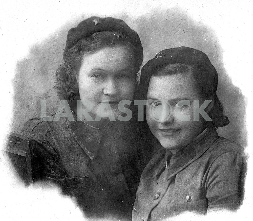 Red army millitary nurses — Image 23298