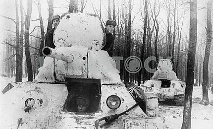 Советский средний танк Т-34