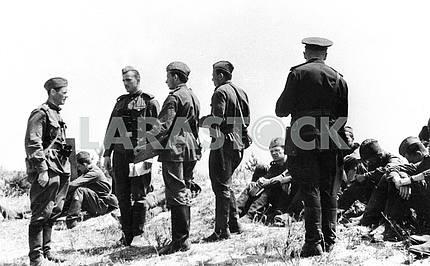 Учения советской армии.