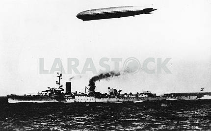 German cruiser KOLN and Graf Zeppelin