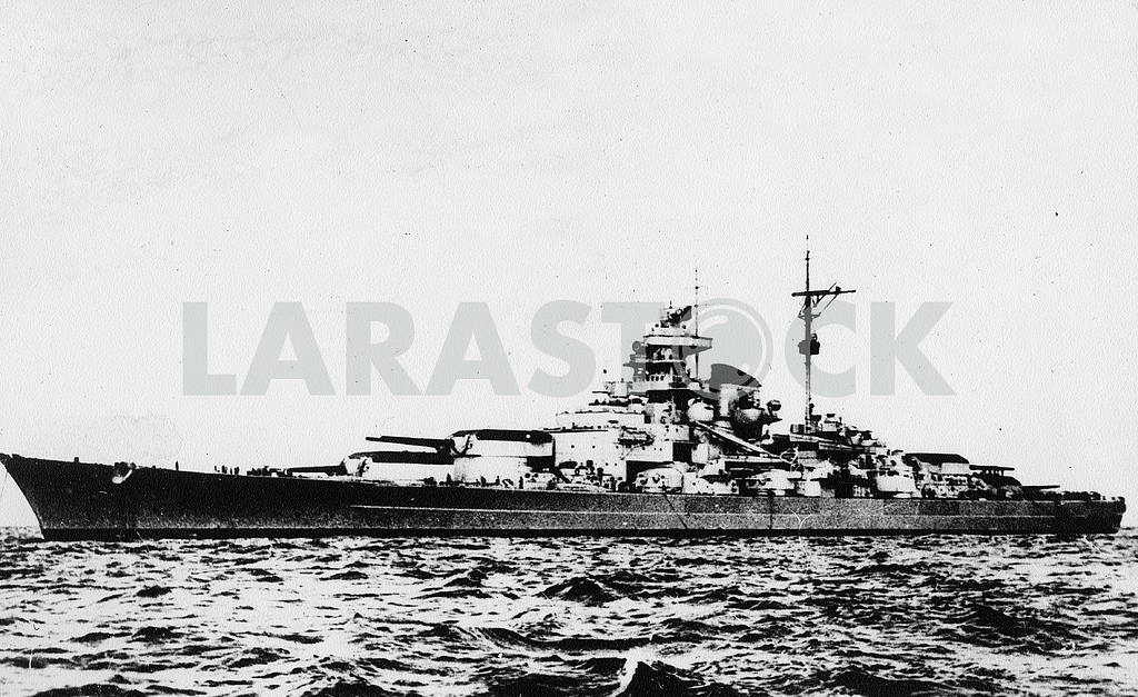 German battleship BISMARCK. — Image 23310