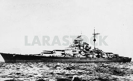 German battleship BISMARCK.
