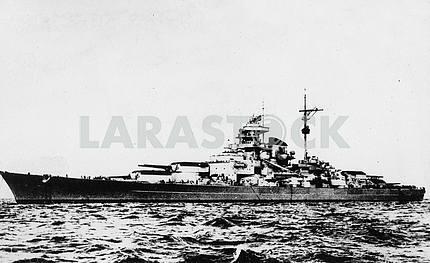 German battleship BISMARCK.