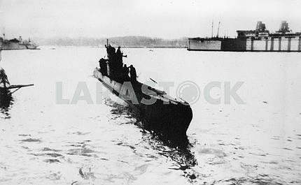 Soviet submarine.