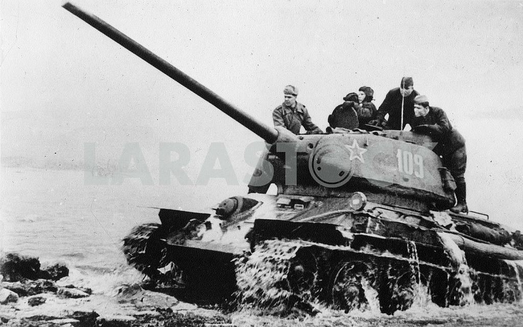 Soviet tank Т-34 — Image 23317