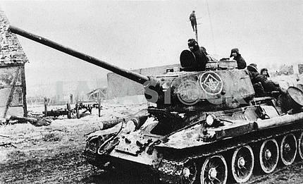 Soviet middle tank
