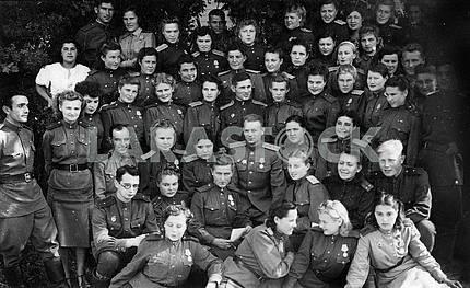 Soviet woman batalion