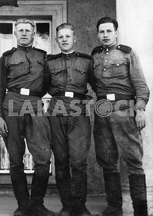 Soviet soldiers.