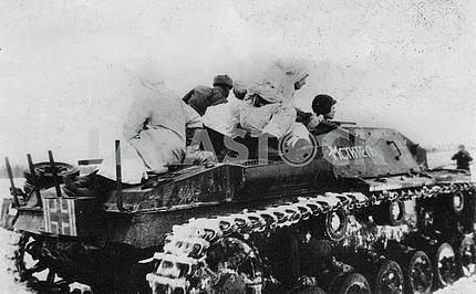 Captured german self-propelled assault gun