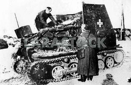 German self-propelled gun