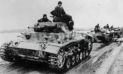Трофейные немецкие танки