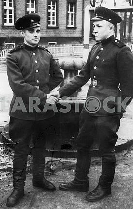Soviet tankists