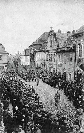 First world war. Ukrainian prisoners