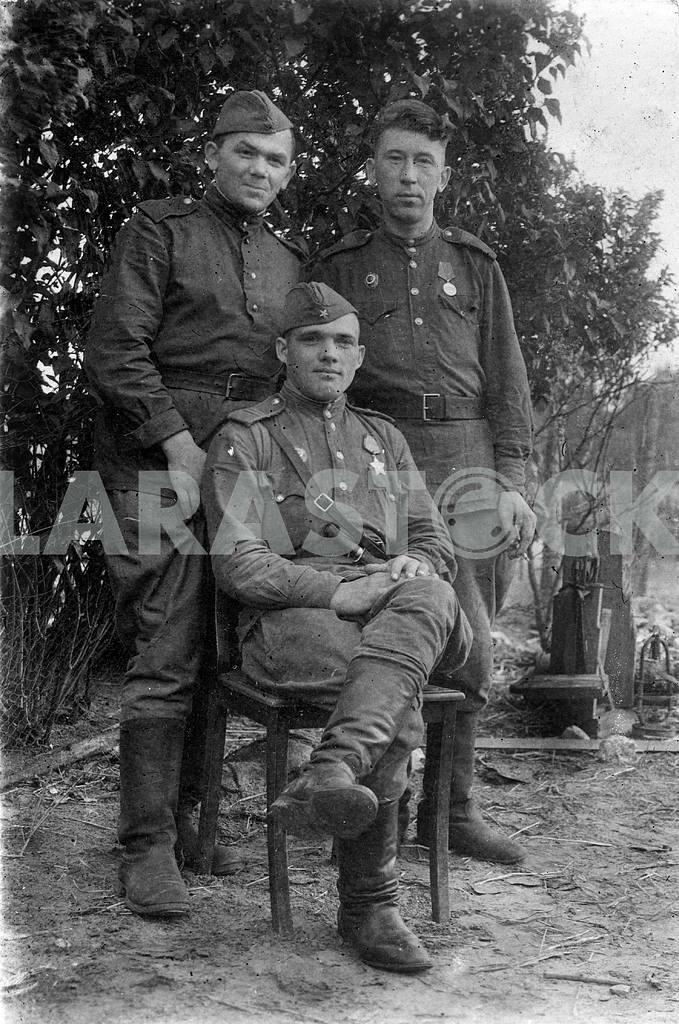 Soviet soldiers. — Image 23494