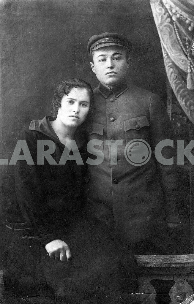 Portrait of a Red Army soldier and his wife — Image 23559