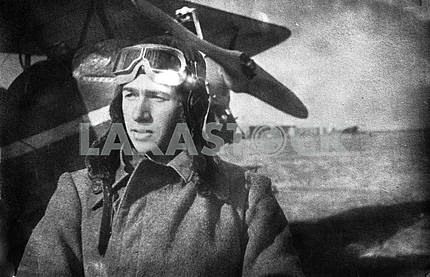 Soviet pilot. The Second World War