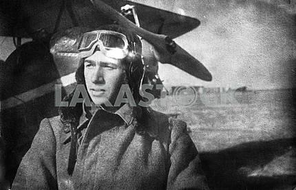 Soviet pilot. The Second World War