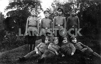 First world war russian soldiers