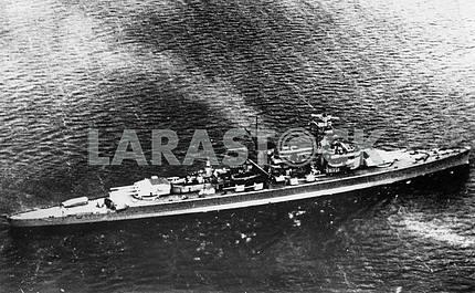 """German line ship """"ADMIRAL GRAF SPEE"""