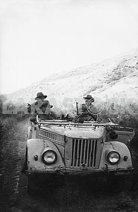 Soviet soldiers of Avganistan