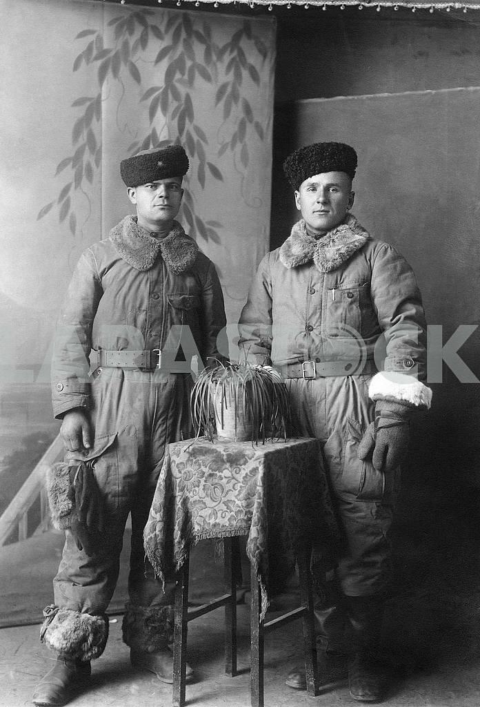 Cossacks in winter clothing — Image 23595