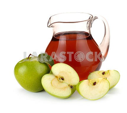 Apple juice and fruit