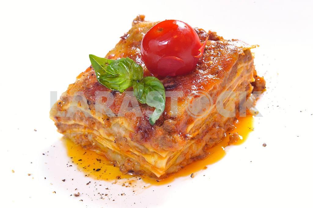 Classic lasagna bolognese — Image 2511